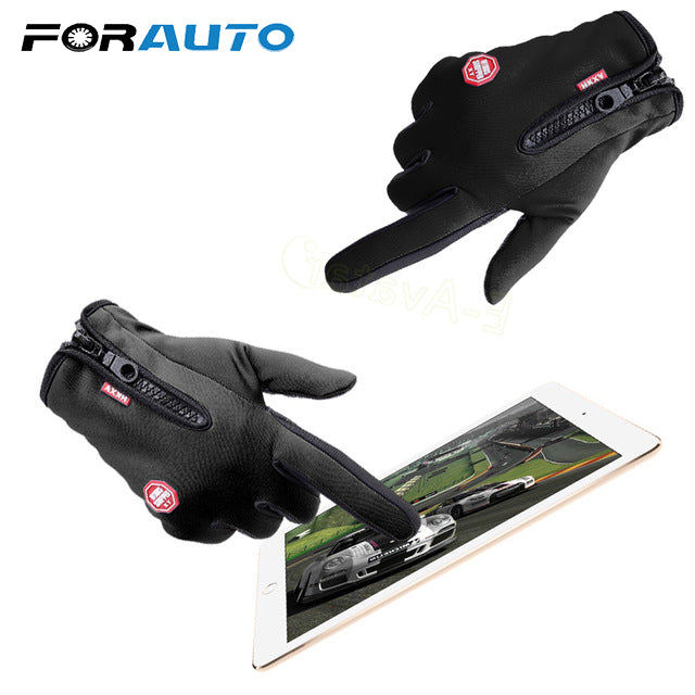 Motorcycle Gloves with Touch Screen Finger