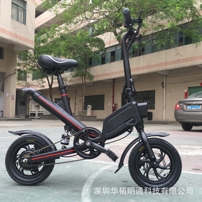 Electric Bike 36V 6.6Ah 7.8Ah Lithium Battery 350W Adult Electric Scooter Folding e bike free shipping