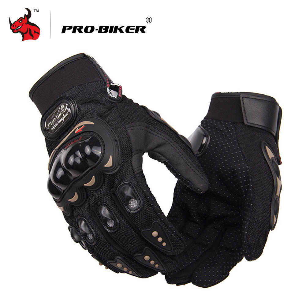 PRO-BIKER Motorcycle Gloves Men Motocross Gloves Full Finger Riding Motorbike Moto Gloves Motocross Guantes Gloves M-XXL