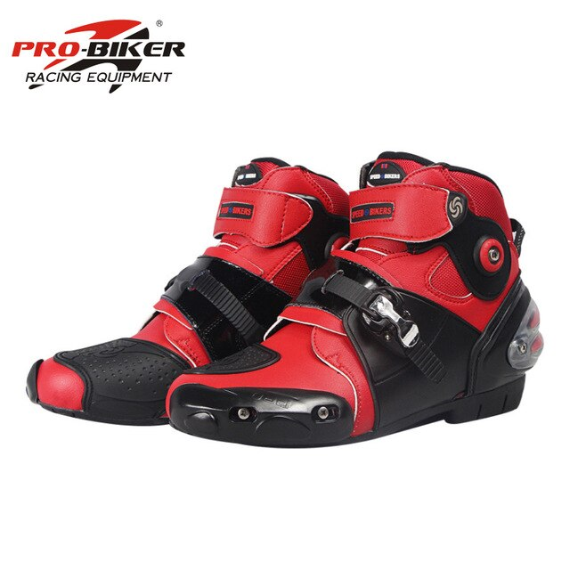 professional motorbike motorcycle boots motocross racing boots waterproof biker protect ankle moto shoes A9003