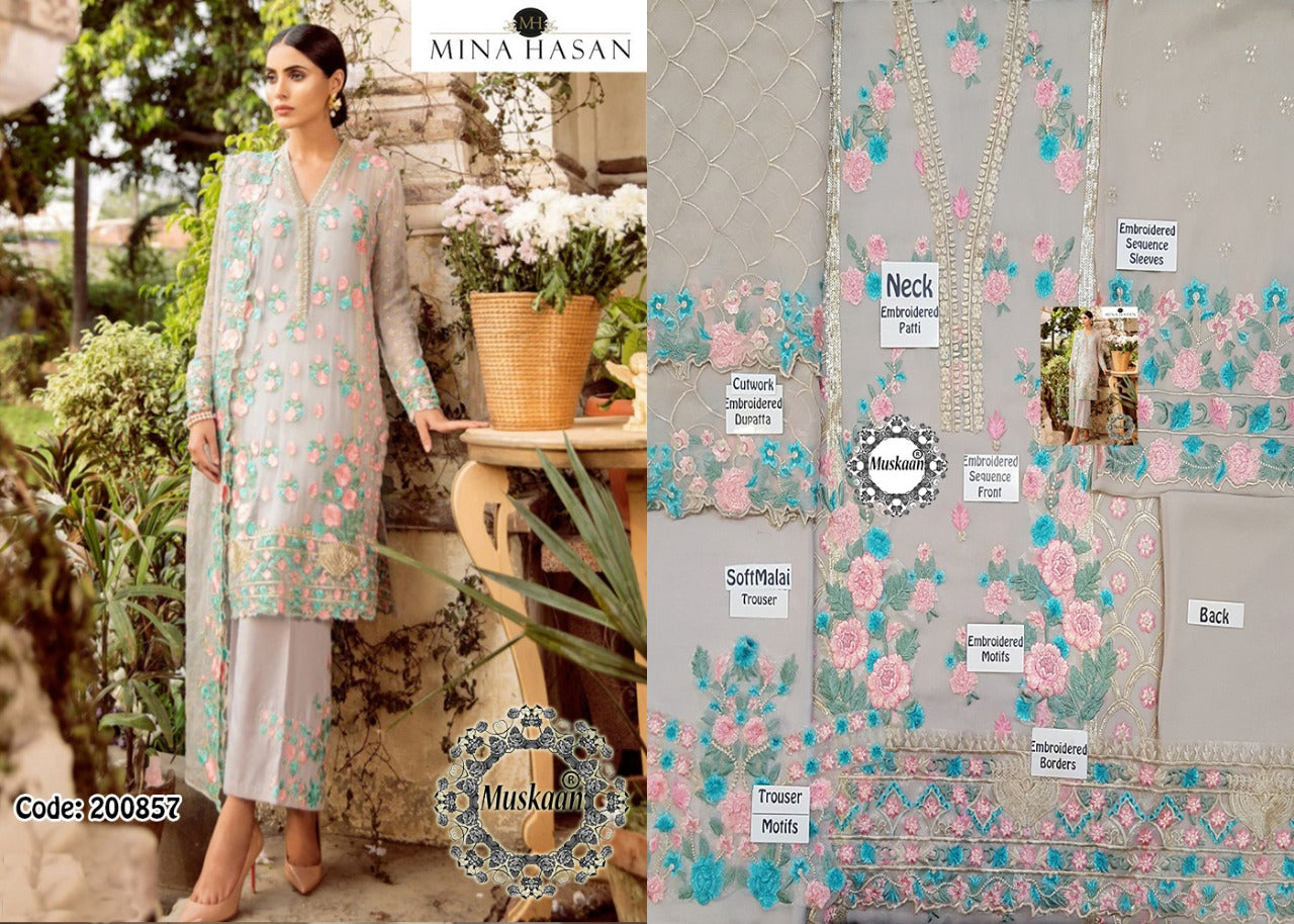 12bbc6a9a7 Mina Hasan Chiffon Collection Master Replica 2018 – shopwoop.pk