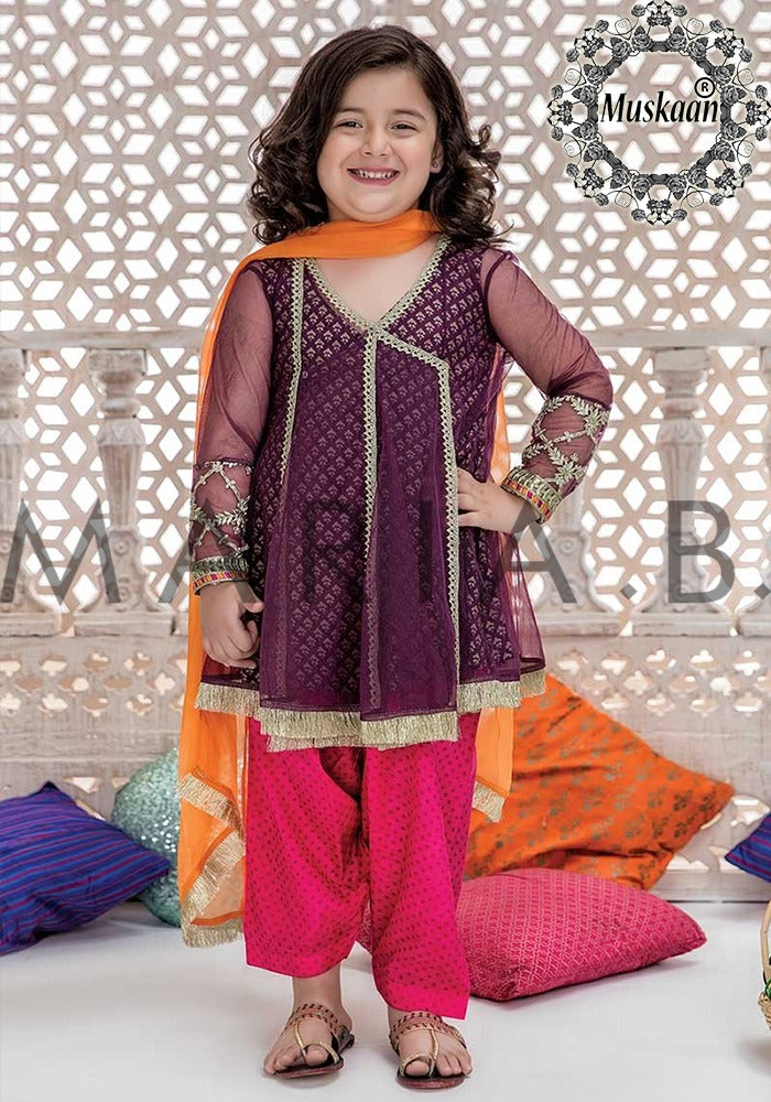 519d8ee6ab Maria B Kids Wedding Wear Collection – shopwoop.pk