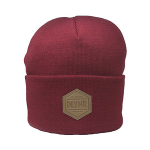 PATCH BEANIE / BORDEAUX