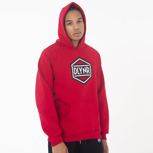 HEXAGON HOODIE / RED