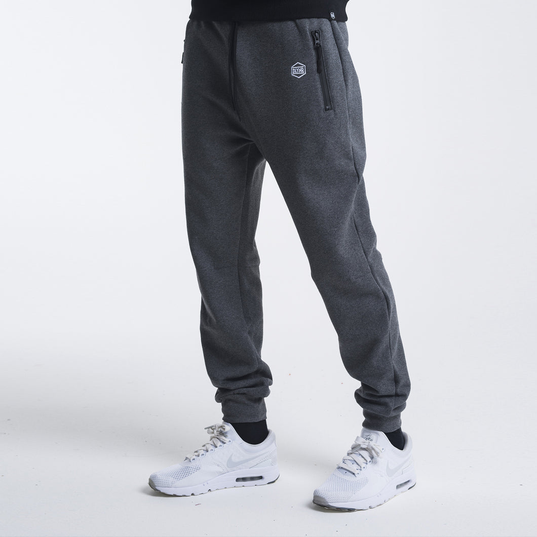 ZIP SWEATPANTS / GREY