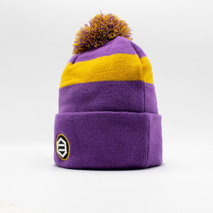 KOBE BEANIE / PURPLE YELLOW
