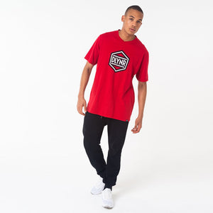 HEXAGON T-SHIRT / RED