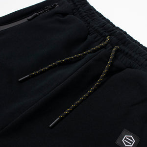 VAPOR SWEATPANTS / BLACK YELLOW
