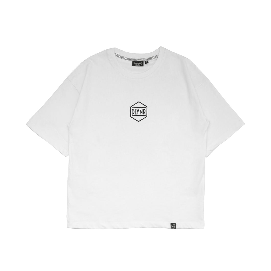 HEXAGON T-SHIRT WOMAN / WHITE