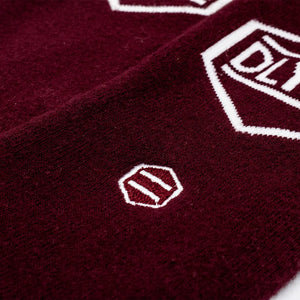 LOGO SOCKS / BORDEAUX