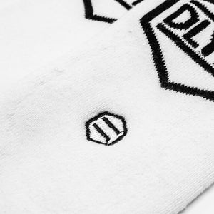 LOGO SOCKS / WHITE