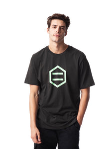 LOGO T SHIRT / BLACK GREEN