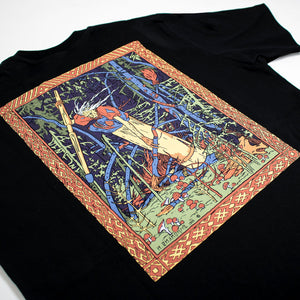 BABA-YAGA T-SHIRT /BLACK