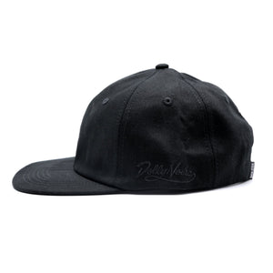 FOLDABLE DAD CAP / BLACK