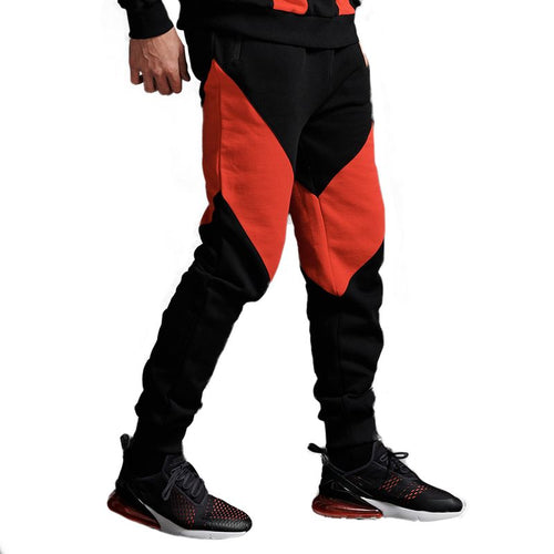 VICTORIOUS SWEATPANTS / BLACK RED