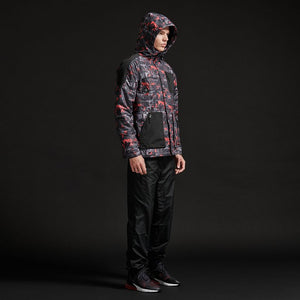 FULL ZIP CAMO GLITCH JACKET / MULTI