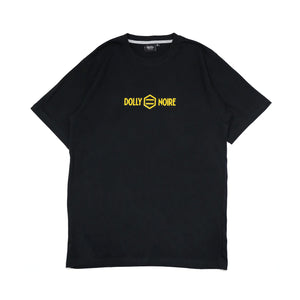 LOGO CAPITAL T-SHIRT / BLACK YELLOW