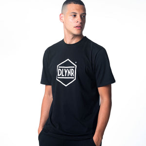 HEXAGON T-SHIRT / BLACK