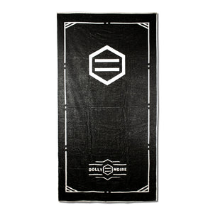 LOGO TOWEL / BLACK WHITE
