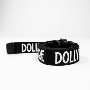 STRIPE LOGO BELT / BLACK