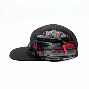 GLITCH 5 PANEL CAP / MULTI
