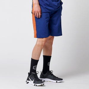 BASKET ACTIVE SHORTPANTS / BLUE ORANGE