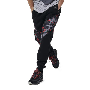 VICTORIOUS GLITCH CAMO SWEATPANTS / MULTI