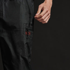 MELTED CARGO PANTS / BLACK