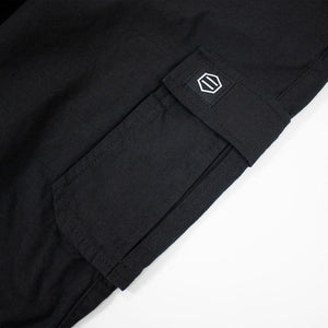 NEW RIPSTOP LONG CARGOPANTS / BLACK