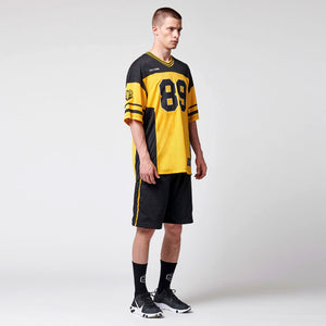 DUSK FOOTBALL T-SHIRT・BLACK YELLOW