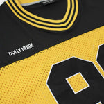 DUSK FOOTBALL T-SHIRT / BLACK YELLOW