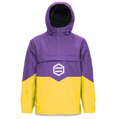 ANORAK JACKET / PURPLE YELLOW