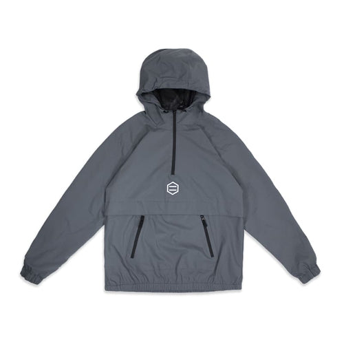 SLIGHT ANORAK JACKET / GREY