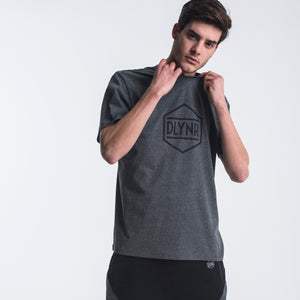 HEXAGON T-SHIRT / ANTRACITE GREY