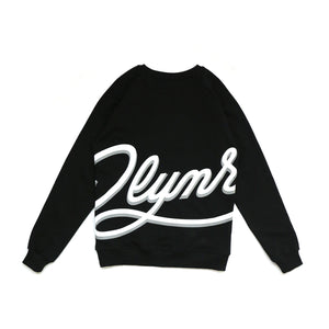 LOW LOGO CREWNECK / BLACK