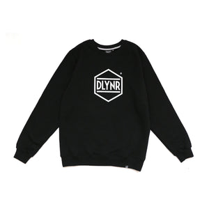 HEXAGON CREWNECK / BLACK