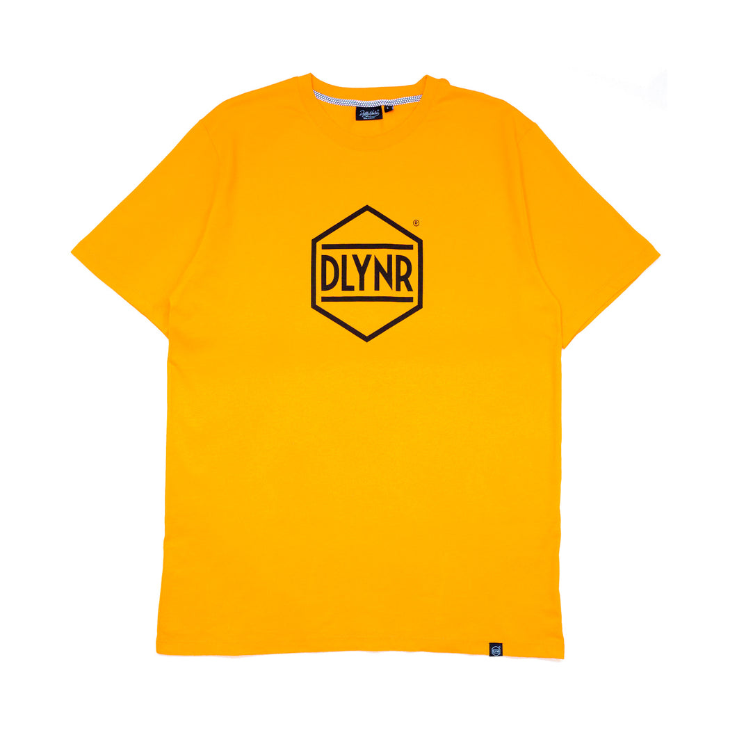 HEXAGON T-SHIRT / ORANGE