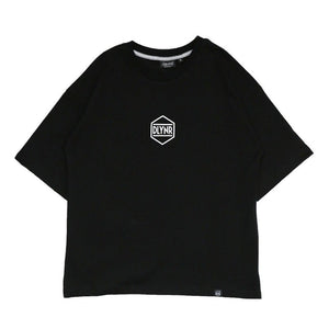 HEXAGON T-SHIRT WOMAN / BLACK