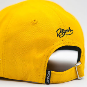 FOLDABLE DAD CAP / YELLOW