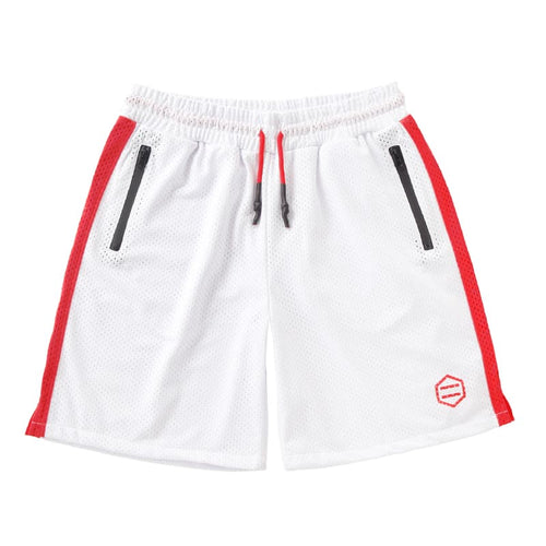 RAY ACTIVE SHORTPANTS / WHITE RED
