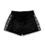 STRIPES SHORTS WOMAN / BLACK