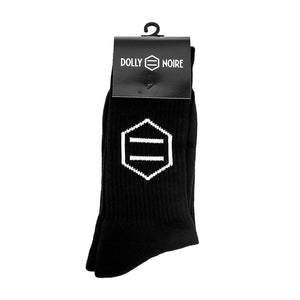 NEW LOGO SOCKS / BLACK