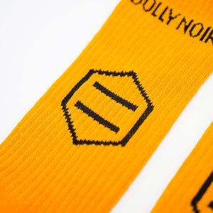 NEW LOGO SOCKS / YELLOW