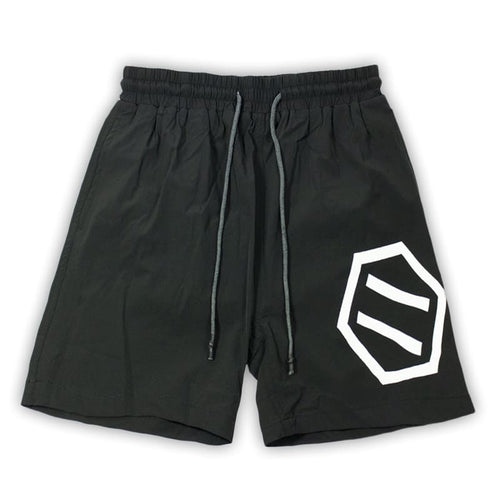 NEW LOGO SWIMSHORTS / BLACK