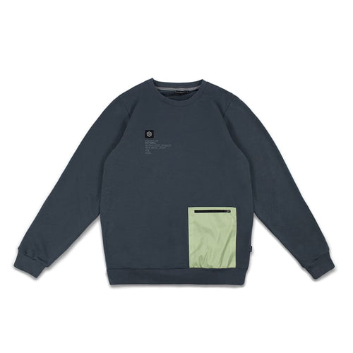 POCKET STORM CREWNECK / GREEN