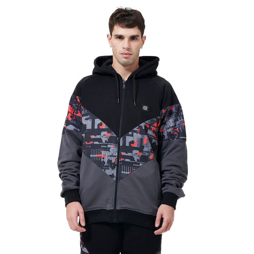 VIRTUAL ZIP HOODIE / MULTI