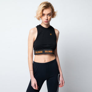 HIGHNECK TOP / BLACK
