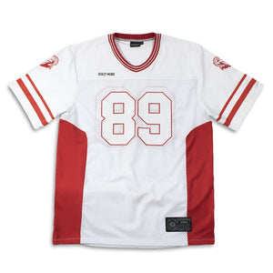 RAY FOOTBALL T-SHIRT / WHITE RED