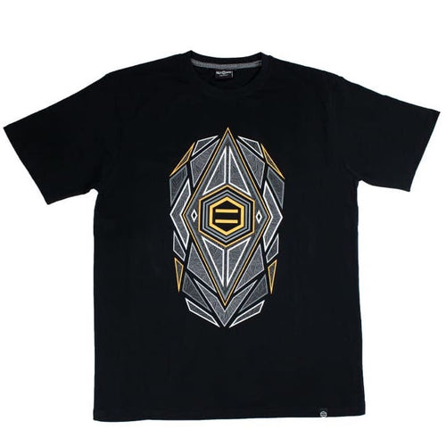 AMBER STONE T-SHIRT / BLACK YELLOW