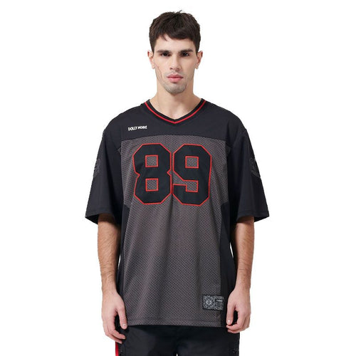FOOTBALL FURY T-SHIRT / BLACK RED